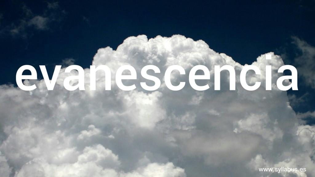 Evanescencia