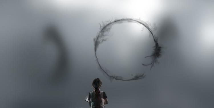 Hablando en círculos, el lenguaje de Arrival.